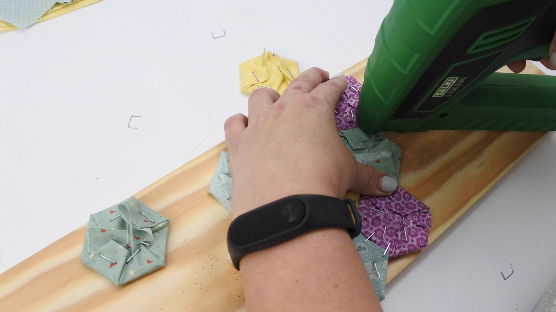 diy reloj falso patchwork 40