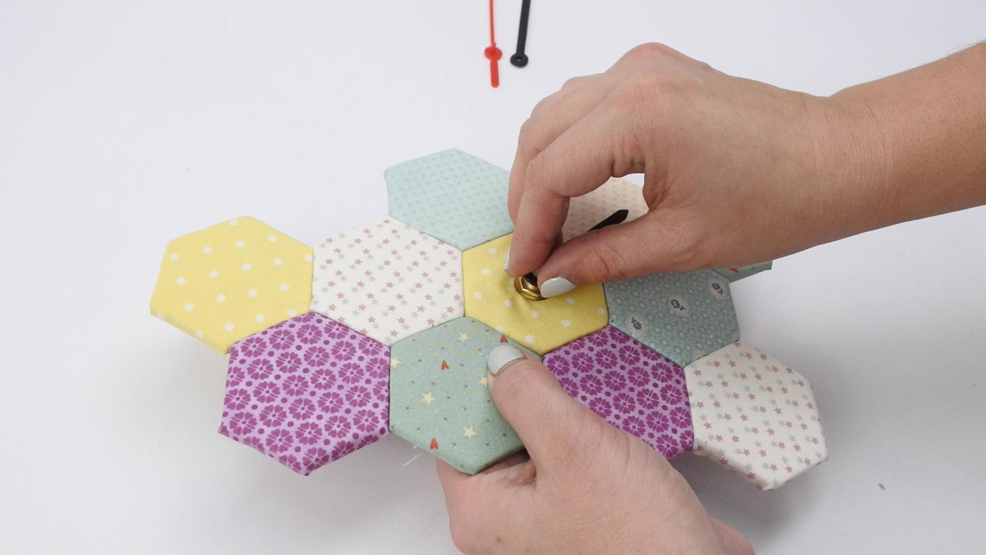 diy reloj falso patchwork 55